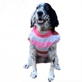 Pink Stars Su İtici Köpek Yağmurluğu , Orta ve Büyük ırklar için Yağmurluk