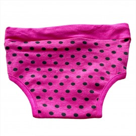 Pinky Polka Kedi İç Çamaşırı  Regl Külot  Don