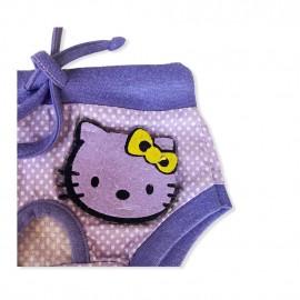 Purple Kitty Secret Kedi İç Çamaşırı  Regl Külot  Don