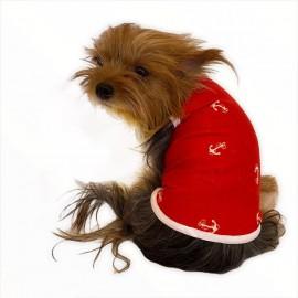 Red Anchor Atlet By Kemique Köpek Kıyafeti Köpek Elbise