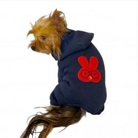 Red Bunny Köpek Tulumu Köpek Kıyafeti