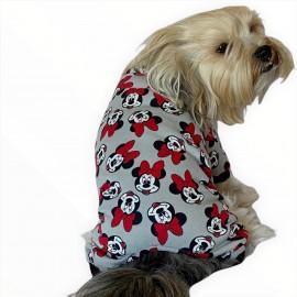 Nighty Mickey Penye Çıtçıtlı Tulum Köpek Tulumu  Köpek Elbisesi