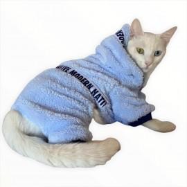 Softie Blue Modern Native Kedi Tulumu Kedi Kıyafeti