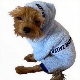 Softie Blue Native Modern Köpek Tulumu Köpek Kıyafeti
