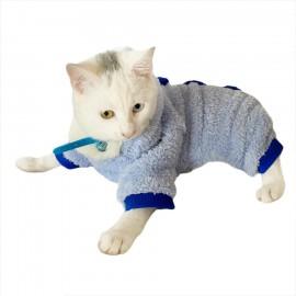 Softie Trio Blue Kedi Tulumu Kedi Kıyafeti