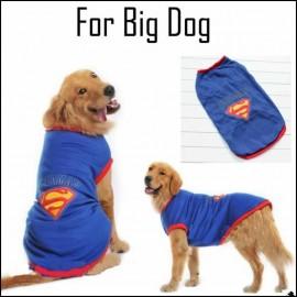 Superman Tişört Büyük Irk Köpekler İçin