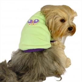 Sweet Butterfly Oval Yaka Tişört Köpek Kıyafeti Köpek Elbisesi