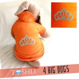 TASHLI 4 BIG DOGS King Crown - Köpek kıyafeti