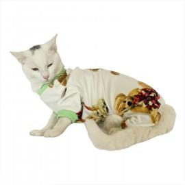 Teddy Green Penye Tulum Kedi Tulumu Kedi Elbisesi