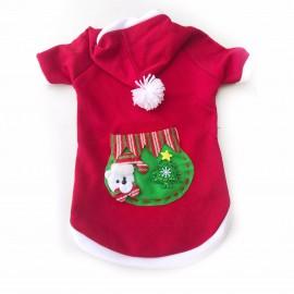 Teddy Santa Polar Yılbaşı Kıyafeti Orta ve Büyük Irk