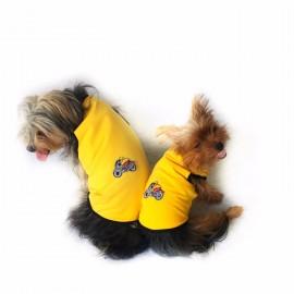 Yellow Bike Atlet Köpek Kıyafeti  Köpek Elbisesi