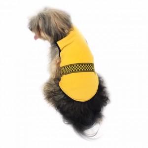 Yellow Black Checker Atlet Köpek Kıyafeti  Köpek Elbisesi