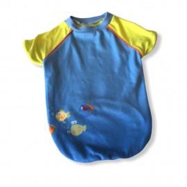 Yellow Fishy Sweatshirt Kedi Süeteri Kedi Kıyafeti